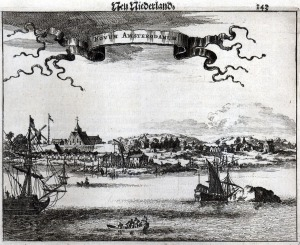 New Amsterdam, ca. 1651