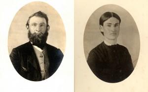 Charles Ebenezer & Orpha Elvira Ballou Barnes