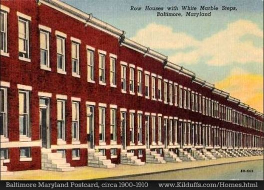 baltimore row houses