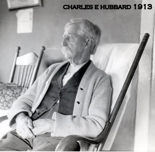 Charles E. Hubbard, photo taken at the Hubbard home in 1913 by Dwight S. Young.