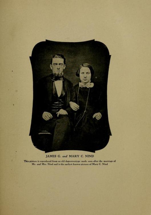 James G & Mary Clarke Nind