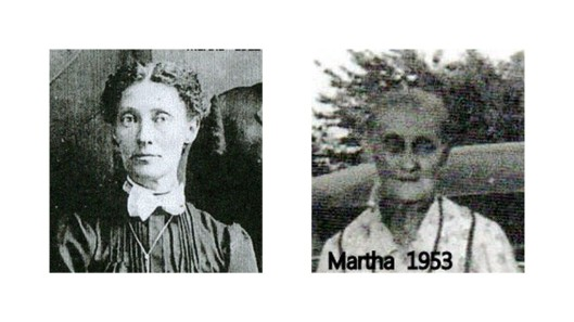 Young Martha & older Martha