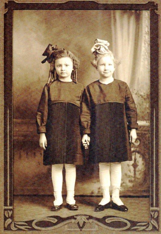 Cousins, Pauline Fredrickson & Arlene Frances Fredrickson