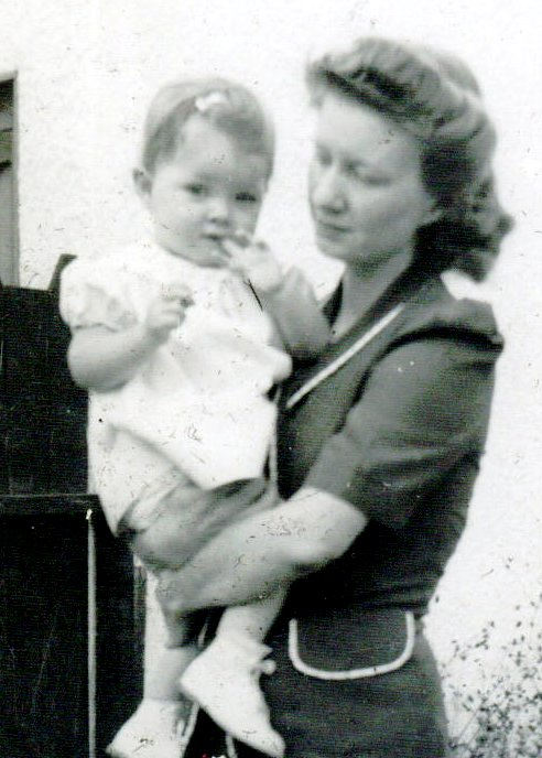 Gayle Neuhaus with mother, Arlene