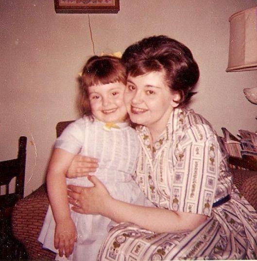 My mother & me, ca. 1963