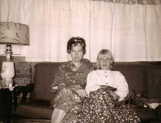Lorraine R. Forrester Abbott with daughter, Ruth Catherine Abbott